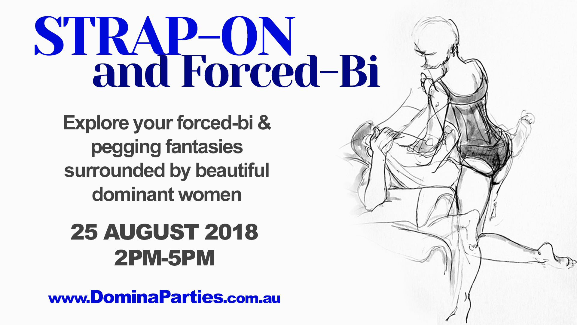 Strap-on & Forced Bi Party 8 July 2017