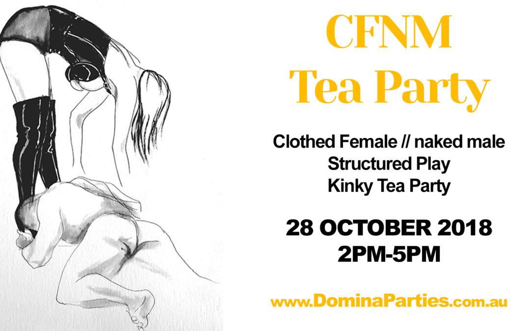 Sydney CFNM Tea Party ~ 28 October 2018