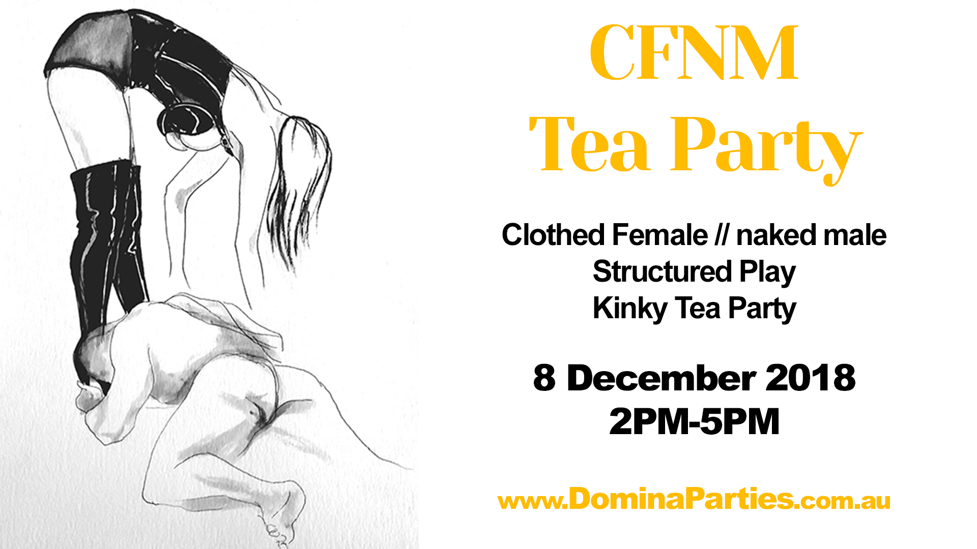Sydney CFNM Afternoon Tea Party 18 March 2017