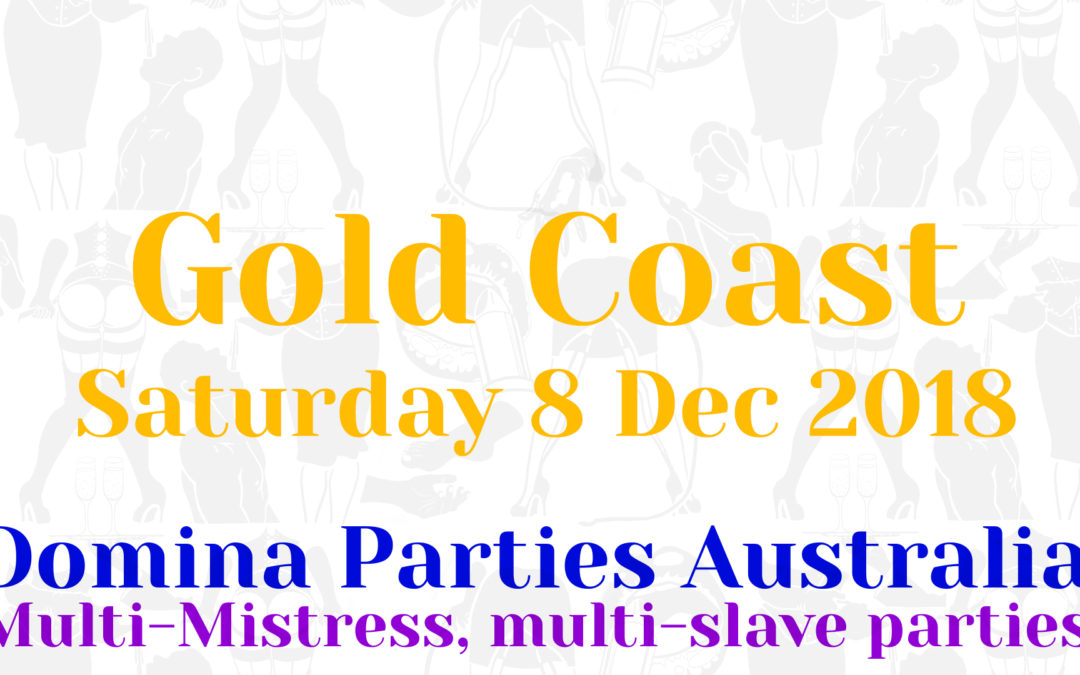 Gold Coast Saturday 8 December 2018
