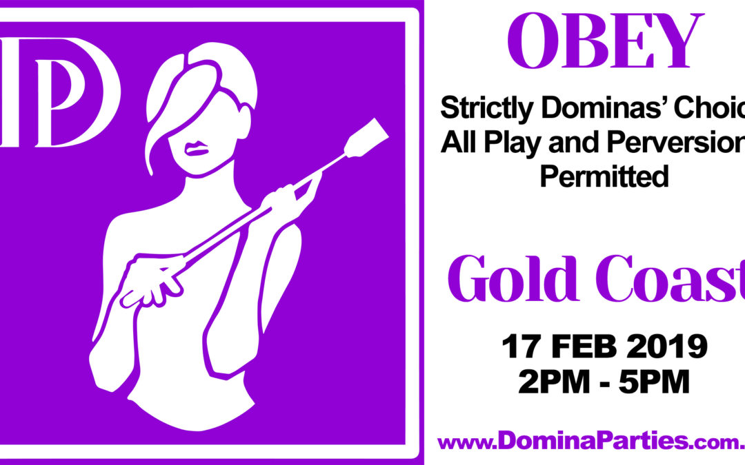 Gold Coast OBEY ~ 17 Feb 2019
