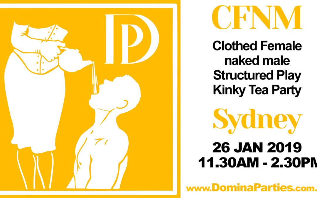 Sydney CFNM Tea Party ~ 26 Jan 2019