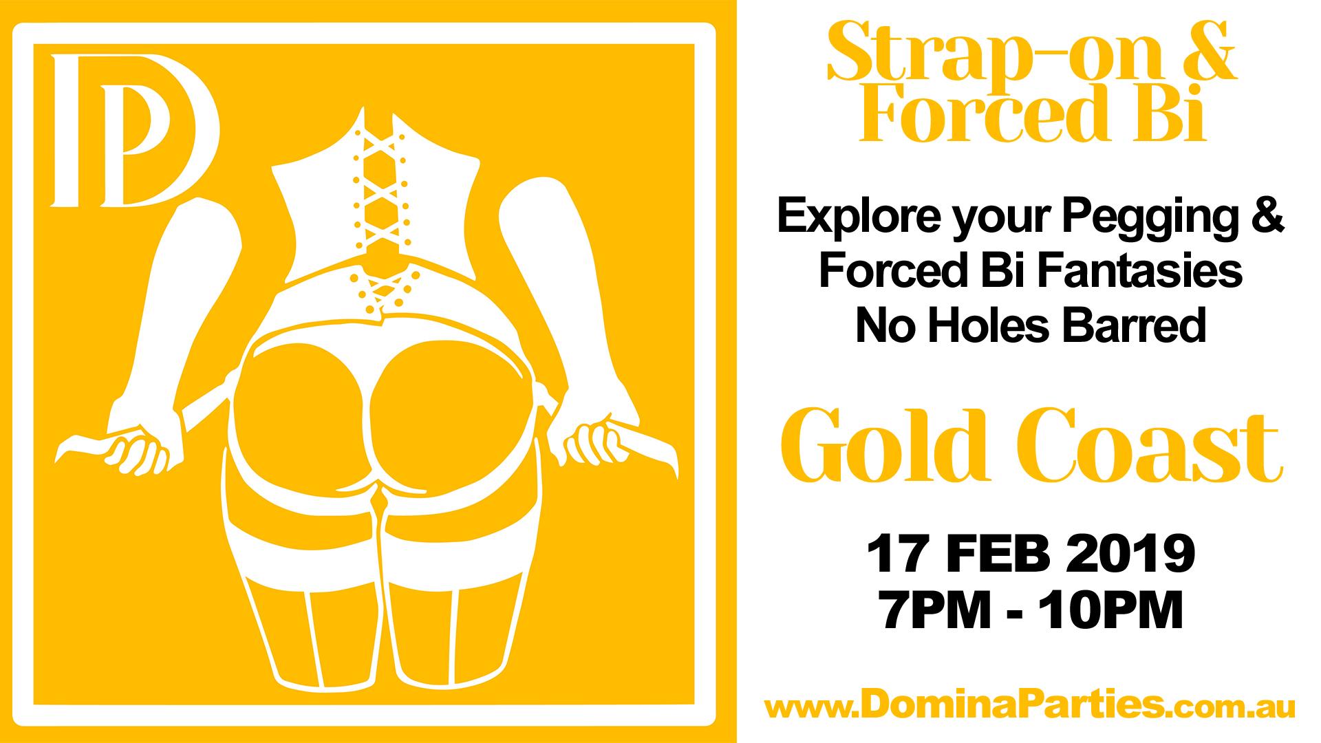 Strap-on & Forced Bi Party 8 July 2017