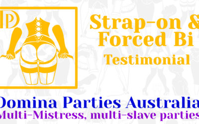 Testimonial: Strap-on & Forced Bi 18 October 2019
