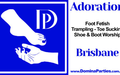 Brisbane Adoration Foot Fetish Party ~ 7 September 2019