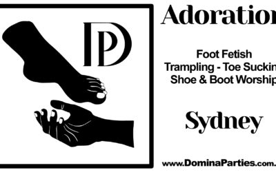 Sydney Adoration Foot Fetish Party ~ 26 October 2019