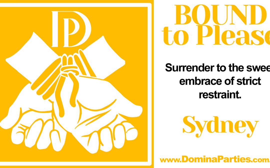 Sydney Bound To Please ~ 28 September 2019