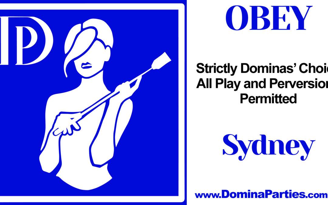 Sydney Obey! ~ 22 March 2020