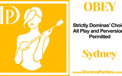 Sydney Obey! Dominas Choice ~ 28 December 2019