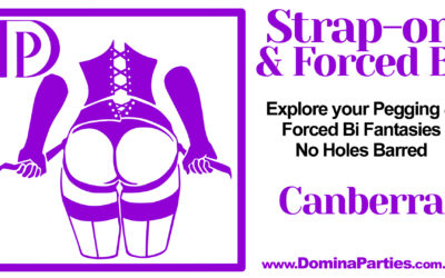 Canberra Strap-on & Forced Bi ~ 15 November 2019