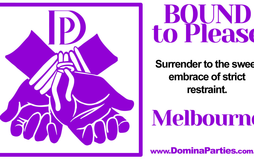 Melbourne Bound To Please ~ 15 September 2019