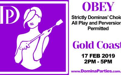 Gold Coast OBEY ~ 17 Feb 2019