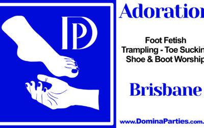 Brisbane Adoration Foot Fetish Party ~ 7 September 2019