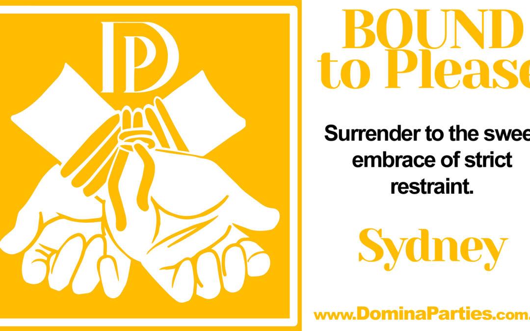 Sydney Bound To Please ~ 23 Feb 2020