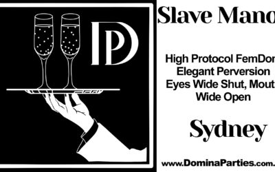 Domina Parties presents Slave Manor: Schoolyard Haze 27 July 2019
