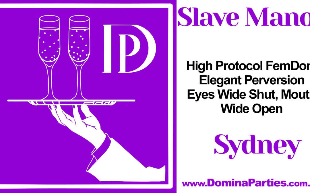 CANCELLED Sydney Slave Manor: Schoolyard Hazing ~ 26 April 2020