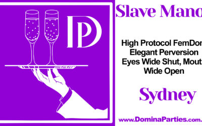 CANCELLED Sydney Slave Manor: Schoolyard Hazing ~ 26 April 2020