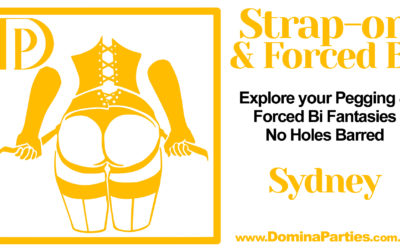 Sydney Strap-on and Forced Bi Party ~ 24 May 2020