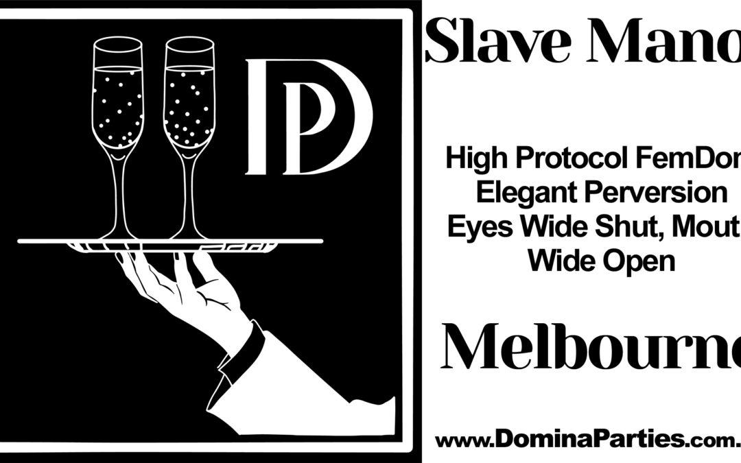 Melbourne Slave Manor: Krampus ~ 14 December 2019